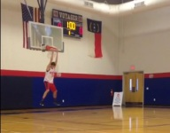 VIDEO: UVA hoops recruit Jay Huff tears down Voyager Academy backboard with dunk