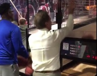 VIDEO: Nick Saban keeps playing Pop-a-Shot with top recruits