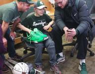 MSU's Costello inspires, finds inspiration from young friend