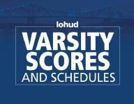 Varsity scores and schedule