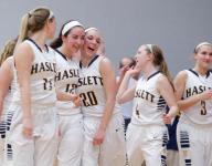Haslett, East Lansing move up in state hoops polls