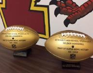 NFL gives Astronaut High golden footballs