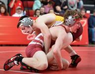 Baum's pin helps Eagles hold off Buccaneers in Henlopen wrestling clash