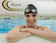 Double state champ Morgan Friesen stumbled into swimming