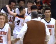 Utah team manager with Down syndrome catches fire on Senior Night