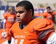 Top 5 defensive tackle Haskell Garrett commits to Ohio State