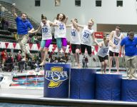 Carmel (Ind.) girls swimming sets national record with 30th consecutive state title