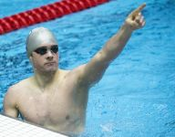 Powerhouse Carmel edges Zionsville by one point to win Indiana boys state swimming title