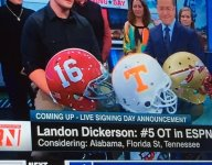 Four-star offensive tackle Landon Dickerson is headed to Florida State