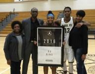 Appreciative VJ King honored on Jordan Brand Classic Senior Night Tour