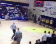VIDEO: Cleveland's Markell Johnson goes between the legs for crazy dunk
