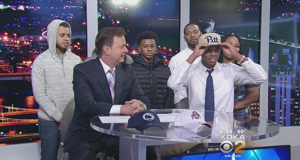 Damar Hamlin picked Pitt as part of two key pledges in the span of an hour (Photo: Twitter)