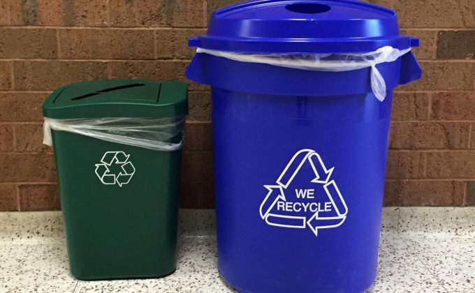 New recycling containers a product of grant money