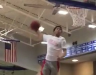 VIDEO: Watch Oak Hill's Lindell Wigginton win dunk contest with bounce pass windmill jam