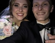 Athlete battling terminal cancer and new wife visit Pirates during spring training honeymoon