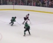 VIDEO: A Minnesota hockey section final ended with an insane spin-o-rama goal