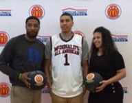 Duke-bound Jayson Tatum honored to wear same jersey as McDonald's All American greats