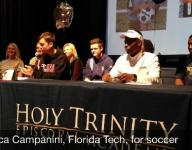 Video: Signing day 2016 at Holy Trinity