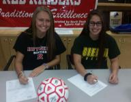 Girls soccer: North Rockland's Aylmer, Alfonzo sign NLIs