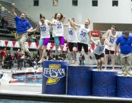 Carmel girls swimming sets national record with 30th straight state title