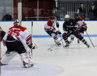 Stephen Nicholas is no longer overshadowed on the ice
