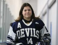 Girl power: Abby Roque stars for Soo boys hockey