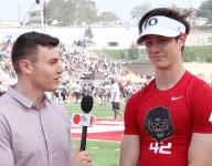VIDEO: Basha (Ariz.) quarterback Ryan Kelley talks Oregon commitment and improvements to his game