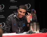 Jayson Tatum dishes about his world travels, handling the acclaim and being thankful for having strict parents