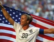 Abby Wambach on her hoops skills in HS: 'I was a horrible free-throw shooter'