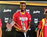 Rayvon Gray hits No. 3 all-time indoor long jump at New Balance Nationals