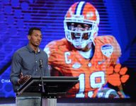 Former Clemson stars share valuable message with students