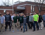 Fossil Ridge (Colo.) students protest firing of football coach: 'We look at him as a father figure'