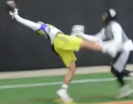VIDEO: The first amazing 7-on-7 catch of the season comes from the BOOM Football League