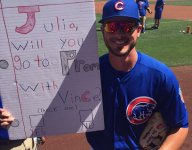 Oswego, Ill. student Vince Santoria got Kris Bryant to step up for his promposal