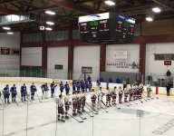 Mass. school penalizes 7 for postgame hockey brawl