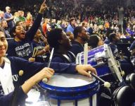 Yale star Brandon Sherrod thanks high school band after final college game