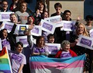 South Dakota governor vetoes transgender bathroom, locker room bill