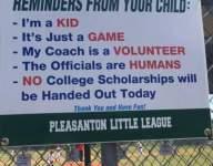 PHOTO: Little League posts perfect sign for obnoxious parents