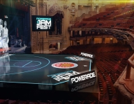 VIDEO: See how Chicago Theatre was transformed into court for Jam Fest at McDonald's All American Game