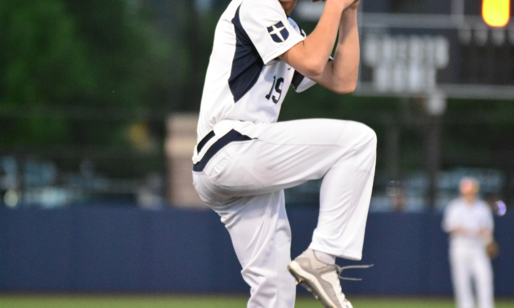 Jesuit pitcher Kyle Muller, who surpassed 120 pitches in a single game twice (Photo: Jowdy Photography)