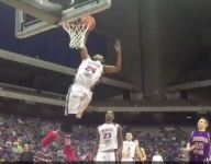 VIDEO: Brownfield's (Tx.) Jaelyn Nolan throws down crazy off-the-glass alley-oop