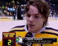 Minnesota hockey star Mark Senden offers unintentionally hilarious interview following state quarters triumph