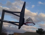 VIDEO: This Illinois 8th grader kicked a mini-basketball 40-feet into the air and through a hoop