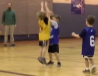 Marquette coach Steve Wojciechowski's son is already playing All-NBA defense at age 6