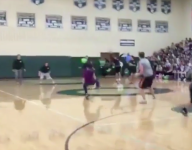 VIDEO: Is this high school dodgeball player really Neo from The Matrix?