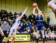 East Lansing girls take down Haslett in tourney opener