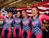 Brownsburg cyclist Chloe Dygert a world champion
