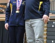 Grand Ledge's Rachel Hogan Division 1 state gymnastics champ