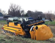 Driver who spilled drink caused rollover of high school bus on way to game