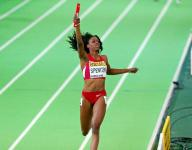 Lawrence North grad Spencer wins two medals at world indoor track